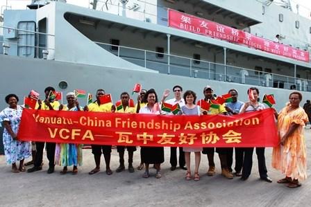 2010年出访南太平洋五国