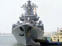 俄罗斯海军舰艇编队启程回国