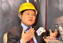 网秦CEO林宇接受媒体采访