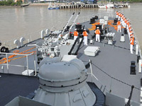 郑和舰结束对马来西亚访问