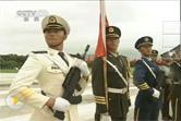 胡锦涛主席视察驻香港部队