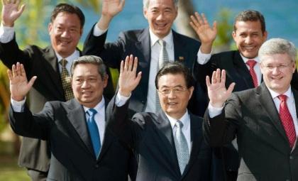 2011年11月13日,亚太经合组织第十九次领导人非正式会议在美国举行