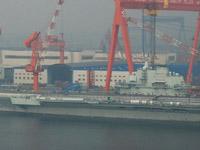中国航母辽宁舰启动动力系统