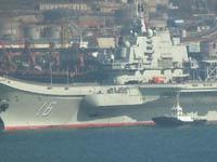 辽宁舰入列后首次试航结束