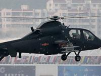 珠海航展武直19直升机献技