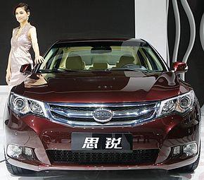 比亚迪思锐广州车展首发