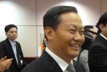 彭清华率广西代表团抵台 展开访问行程