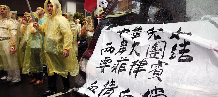 民间团体声援抗议民众