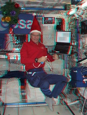 3D照片记录太空生活