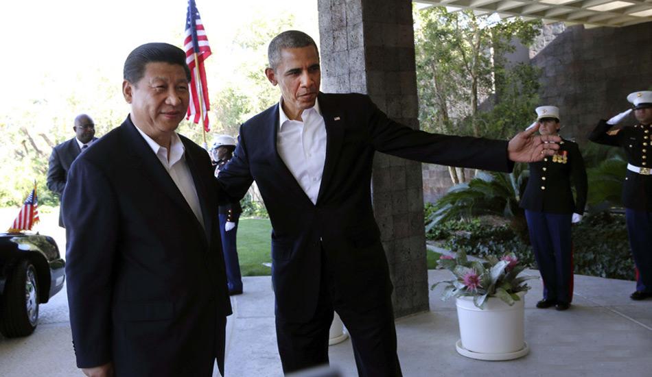 习近平与奥巴马举行中美元首会晤