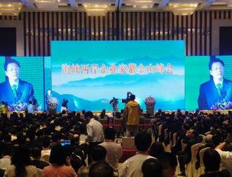 两岸企业家紫金山峰会