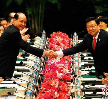 两岸两会领导人第九次会谈在上海登场