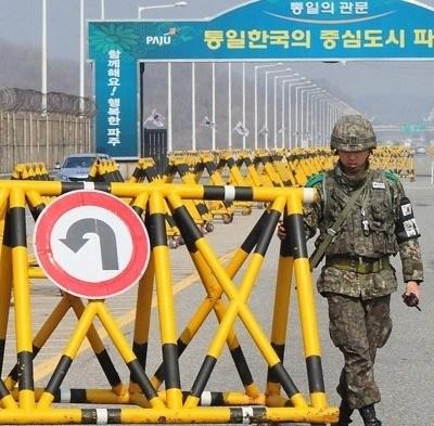 韩朝博弈开城工业园区