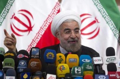 """伊朗温和保守派""""黑马""""绝地突围"""