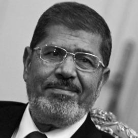 2012年6月 穆尔西成为埃及首位民选总统