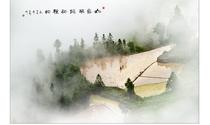 《山雾半掩耕种忙》 摄影:朱德贵