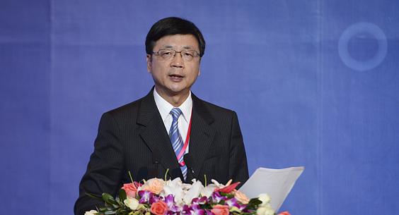 刘北宪作第七届华文传媒论坛主旨报告