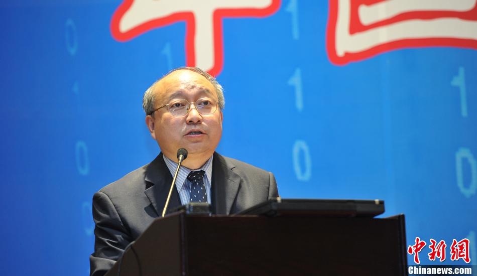 中国新闻社副总编辑张明新总结发言