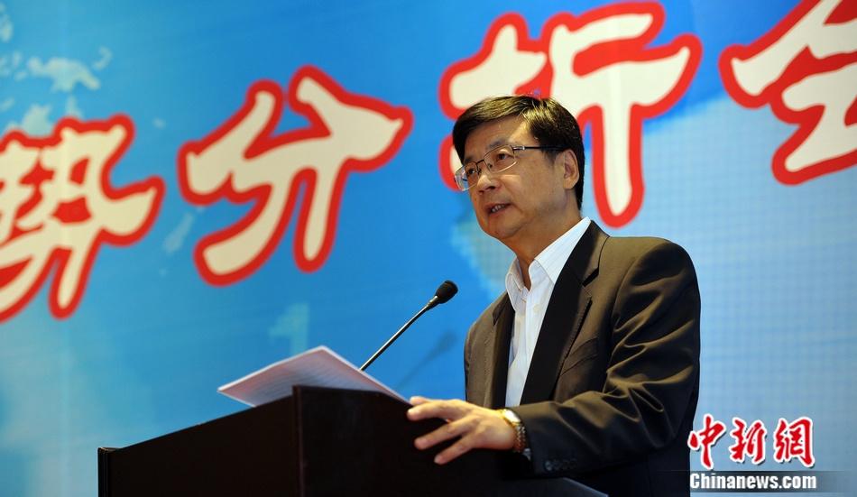 中国新闻社社长刘北宪致辞