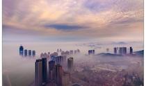 《雾漫星海湾》 摄影:叶清