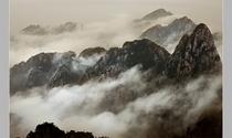 《云游黄山》摄影:祝英培