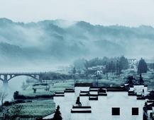 《水墨长滩》 摄影:武辉