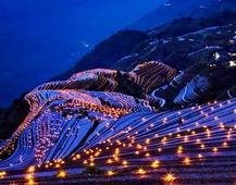 《龙脊夜色》 摄影 :张汉平