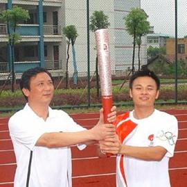 北京奥运会火炬手―张知超