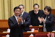李源潮出席第九次全国侨代会闭幕会议