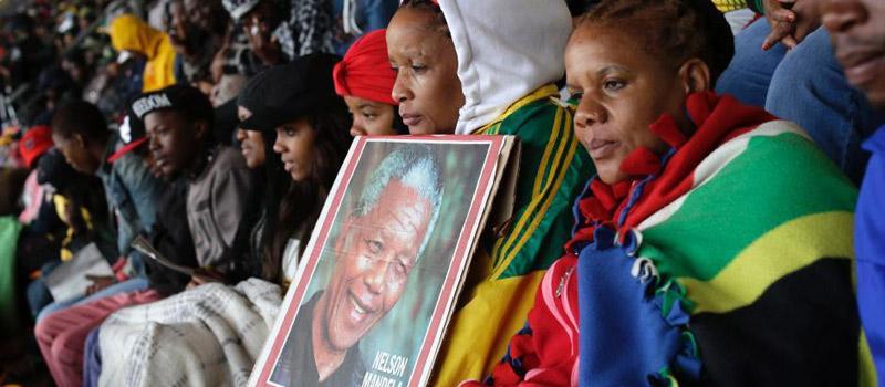 曼德拉追悼会举行超8万民众出席