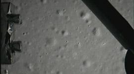 嫦娥三号传回月球表面照片