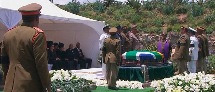 曼德拉遗体下葬 传奇人生落幕