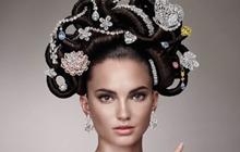 天价发饰:5亿美元宝石发间插