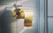 """""""土豪金""""厕纸闪闪发光"""