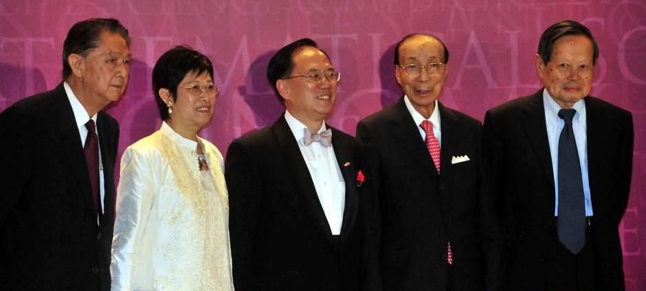 """""""2008年度邵逸夫奖颁奖礼""""在香港举行"""
