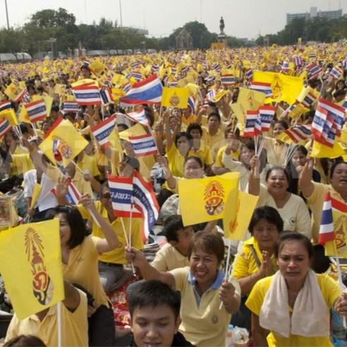 黄衫军:代表泰国中上层利益的群体