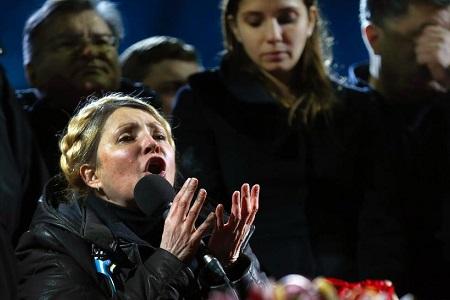 季莫申科称将参选乌克兰总统 不谋求总理职位