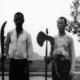 1938年延安:农民拿武器