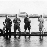 战俘用相机记录莒南独立营