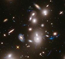 科学家拍摄古老星系