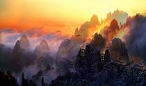 《安徽黄山》 摄影:陆士德