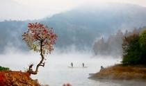 《通济湖秋色》 摄影:吴小杭