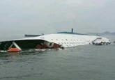 载400余人客船在韩海域沉没