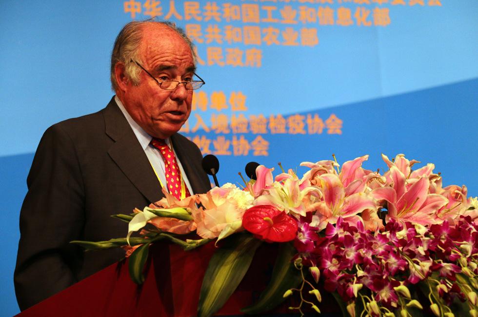 世界肉类组织原主席 阿图罗•拉瓦洛