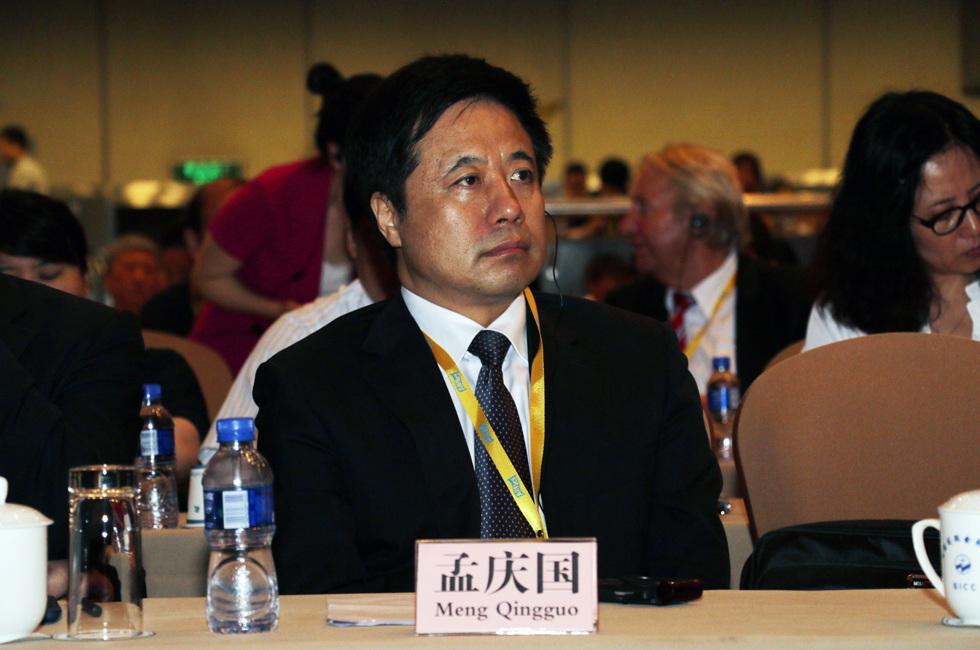 中国肉类协会会长孟庆国