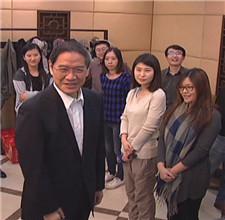 与驻京台湾记者新春联谊