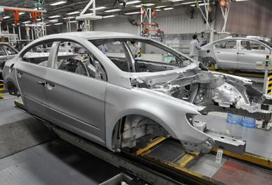 5月份新能源汽车产量同比增长98.32%