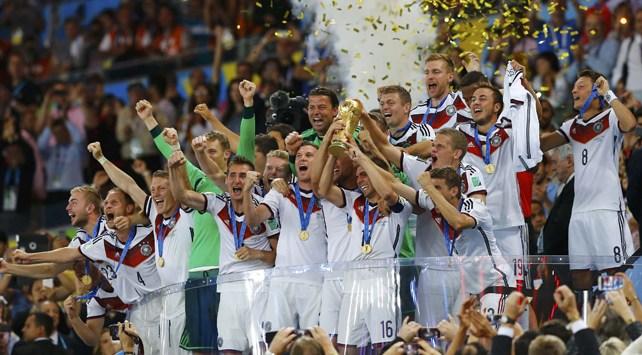德国第四次赢得世界杯