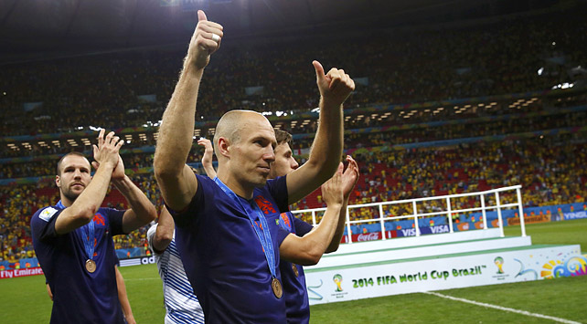 荷兰3-0胜巴西夺世界杯季军