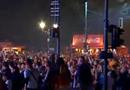 实拍柏林球迷狂欢